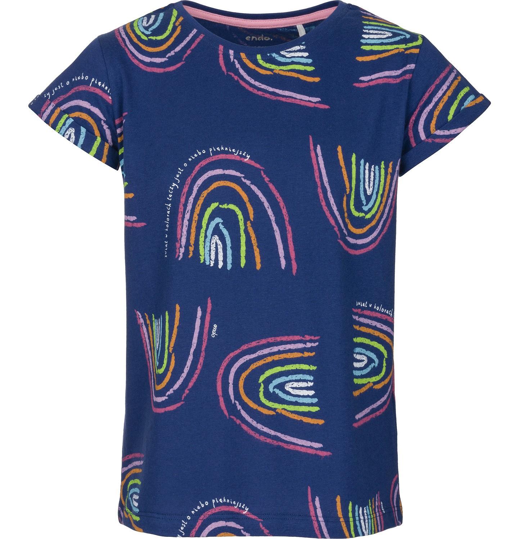 Endo - T-shirt z krótkim rękawem dla dziewczynki 9-13 lat D91G509_2