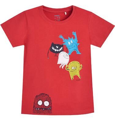 Endo - T-shirt z krótkim rękawem dla chłopca 9- 13 lat C81G537_1