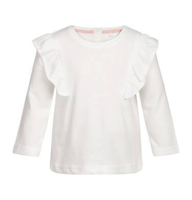 T-shirt z długim rękawem dla dziecka 0-3 lata N82G016_1