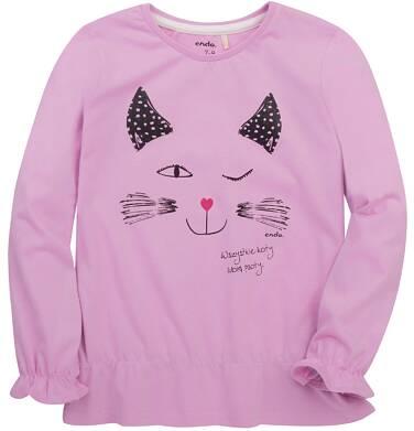 Endo - Bufiasta bluzka dla dziewczynki 9-13 lat D72G526_1