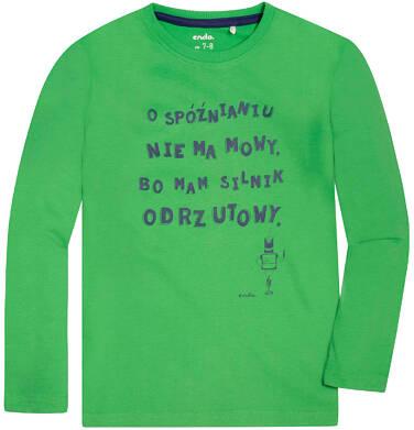 Endo - T-shirt z długim rękawem dla chłopca 3-8 lat C72G047_2