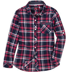 Endo - Koszula flanelowa dla dziewczynki 3-8 lat D62F002_1