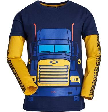 Endo - T-shirt z długim rękawem dla chłopca 9-13 lat C82G533_2
