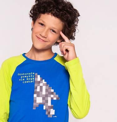 """Endo - """"Doskonałe pomysły nie mogą czekać"""" T-shirt z długim rękawem dla chłopca 3-8 lat C82G092_2"""