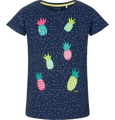 Endo - T-shirt z krótkim rękawem dla dziewczynki 3-8 lat D91G022_1