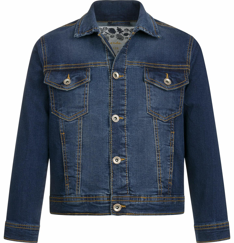 Endo - Kurtka jeansowa dla chłopca, 2-8 lat C03A005_1
