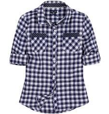 Koszula flanelowa dla dziewczynki 9-12 lat D62F503_1
