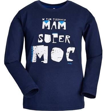 Endo - T-shirt z długim rękawem dla chłopca 3-8 lat C82G101_1