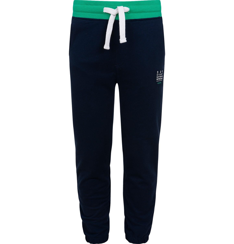 Endo - Spodnie dresowe dla chłopca, granatowe, 9-13 lat C06K026_2