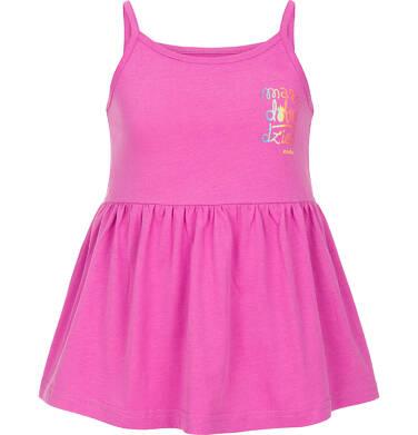 Endo - Top na ramiączkach dla dziewczynki 3-8 lat D91G024_1