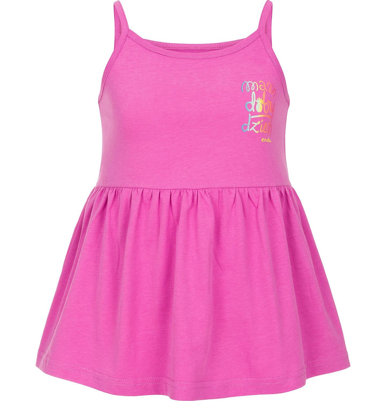 Endo - Top na ramiączkach dla dziewczynki 9-13 lat D91G524_1