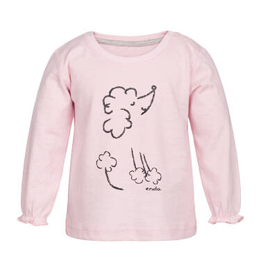 Endo - T-shirt z długim rękawem dla dziecka 0-3 lata N82G017_1