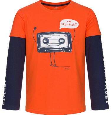Endo - T-shirt z długim rękawem dla chłopca 3-8 lat C92G115_1