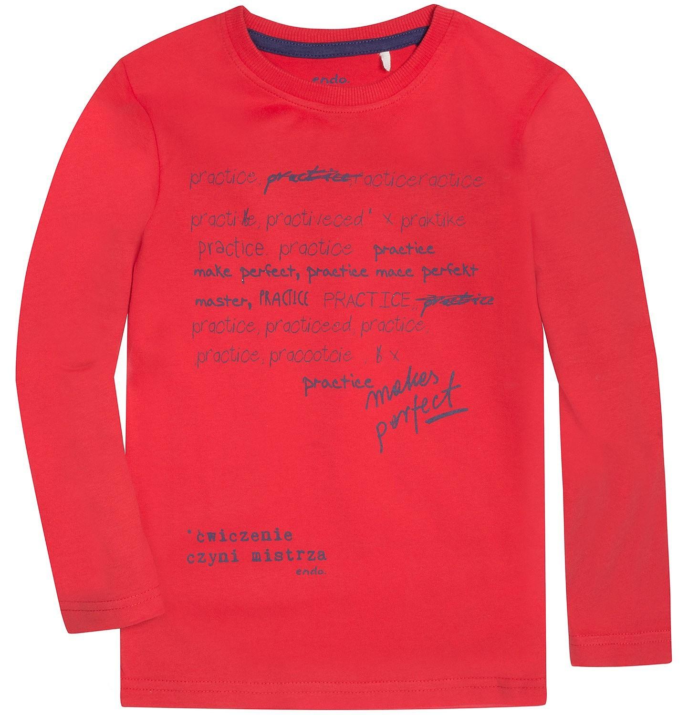 Endo - T-shirt z długim rękawem dla chłopca 9-13 lat C72G640_1