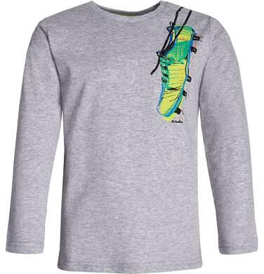 T-shirt z długim rękawem dla chłopca 9-13 lat C82G603_1