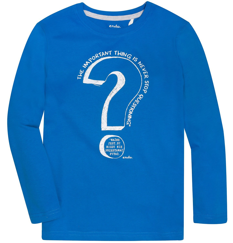 Endo - T-shirt z długim rękawem dla chłopca 3-8 lat C72G141_1