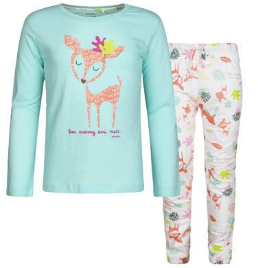 Endo - Piżama z długim rękawem dla dziewczynki 9-13 lat D82V507_1