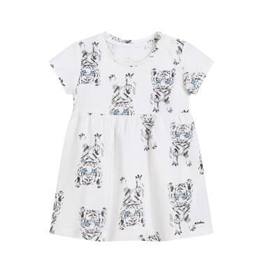 Endo - Sukienka dla dziewczynki do 2 lat, w tygrysy, porcelanowa N03H020_1 6