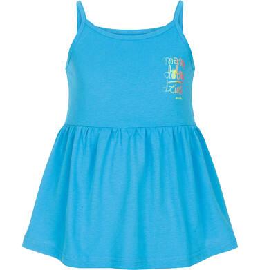 Endo - Top na ramiączkach dla dziewczynki 3-8 lat D91G024_3