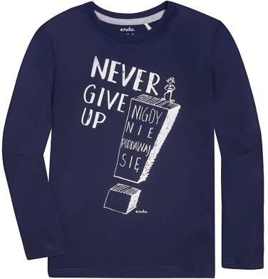 Endo - T-shirt z długim rękawem dla chłopca 3-8 lat C72G144_1