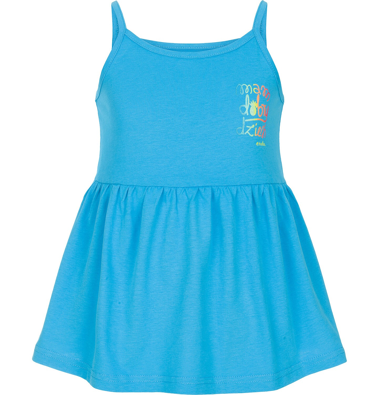 Endo - Top na ramiączkach dla dziewczynki 9-13 lat D91G524_3