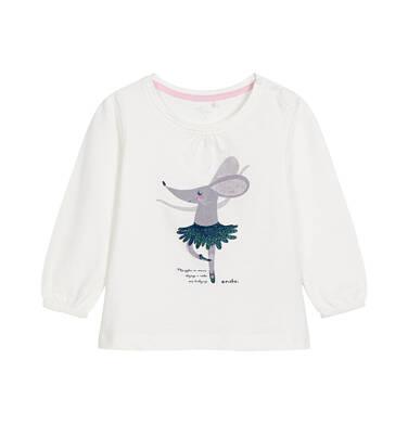 Endo - Bluzka z długim rękawem dla dziecka 0-3 lata N92G094_1