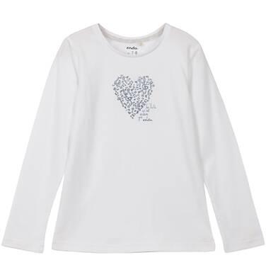 Endo - Bluzka z długim rękawem dla dziewczynki 3-8 lat D62G003_1