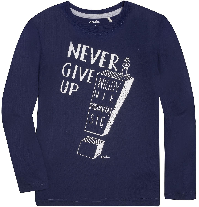 Endo - T-shirt z długim rękawem dla chłopca 9-13 lat C72G644_1