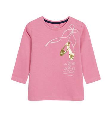 Bluzka z długim rękawem dla dziecka 0-3 lata N92G090_1