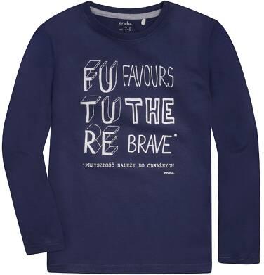 Endo - T-shirt z długim rękawem dla chłopca 9-13 lat C72G645_1