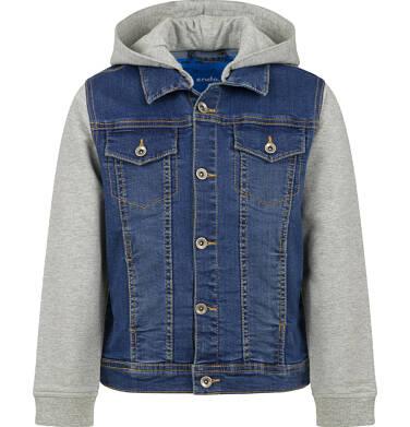 Endo - Kurtka jeansowa dla chłopca, z kapturem, 9-13 lat C03A507_1 7