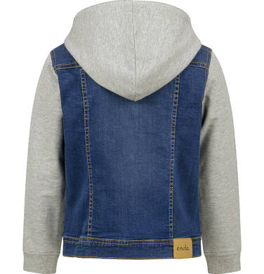 Endo - Kurtka jeansowa dla chłopca, z kapturem, 9-13 lat C03A507_1 12
