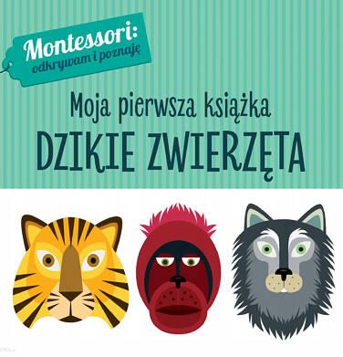 Endo - Montessori Moja pierwsza książka. Dzikie zwierzęta SD91W089_1
