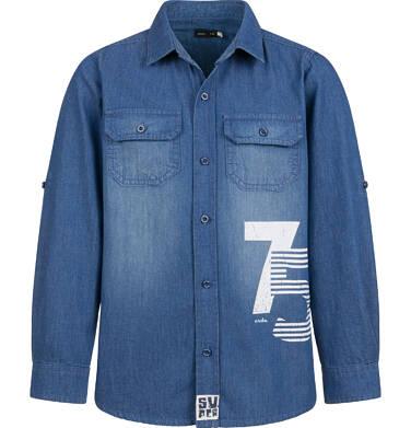 Endo - Koszula jeansowa dla chłopca, 9-13 lat C03F510_1 1