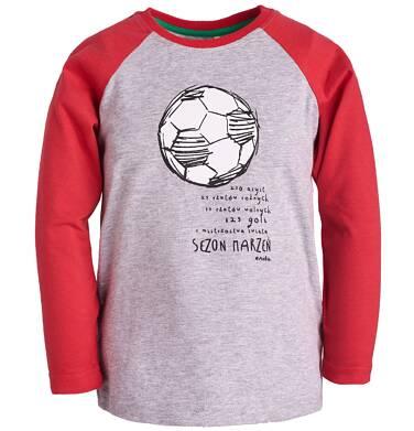 Endo - T-shirt z reglanowym rękawem dla chłopca 9-13 lat C81G597_2