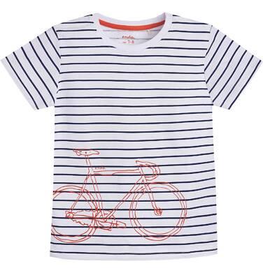 Endo - T-shirt z krótkim rękawem dla chłopca 9- 13 lat C81G592_1