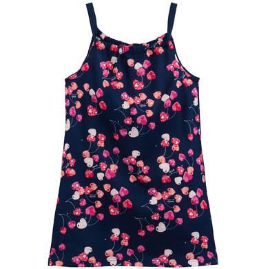 Endo - Letnia sukienka w owocowy deseń dla dziewczynki D61H028_1
