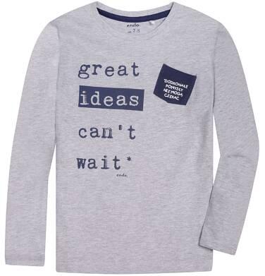 Endo - T-shirt z długim rękawem dla chłopca 3-8 lat C72G148_1