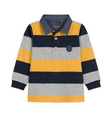 Endo - Koszulka polo z długim rękawem dla dziecka 0-3 lata N92G001_3
