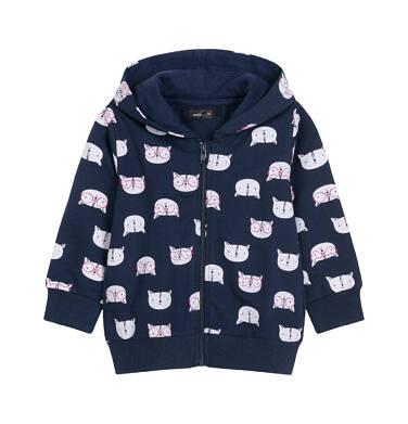 Endo - Bluza rozpinana z kapturem dla dziecka 0-3 lata N92C013_1