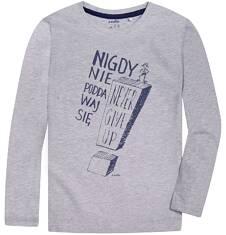 Endo - T-shirt z długim rękawem dla chłopca 3-8 lat C72G157_1