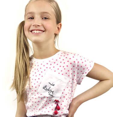 Endo - T-shirt z krótkim rękawem dla dziewczynki 9-13 lat D91G538_1