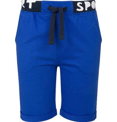Endo - Krótkie spodenki dresowe dla chłopca, niebieskie, 2-8 lat C03K003_2 185