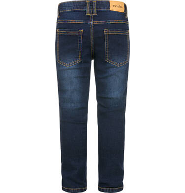 Endo - Spodnie jeansowe dla chłopca, 2-8 lat C03K049_2,2