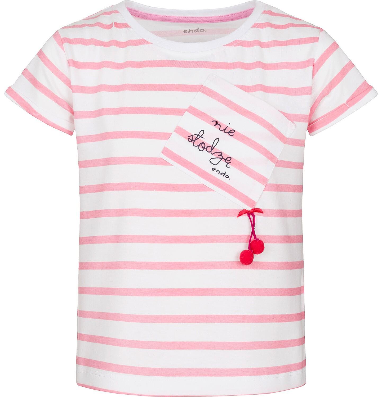 Endo - T-shirt z krótkim rękawem dla dziewczynki 3-8 lat D91G039_1