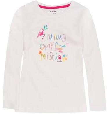 Endo - Bluzka z długim rękawem  dla dziewczynki 3-8 lat D72G104_2