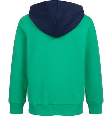 Endo - Bluza rozpinana z kapturem dla chłopca, zielona, 2-8 lat C04C009_1 7