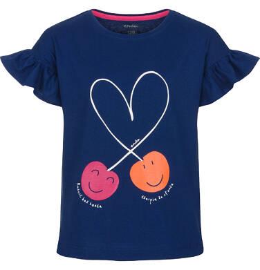 T-shirt z krótkim rękawem dla dziewczynki 3-8 lat D91G041_1
