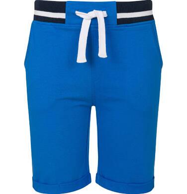 Endo - Krótkie spodenki dresowe dla chłopca, niebieskie, 2-8 lat C03K004_1 38