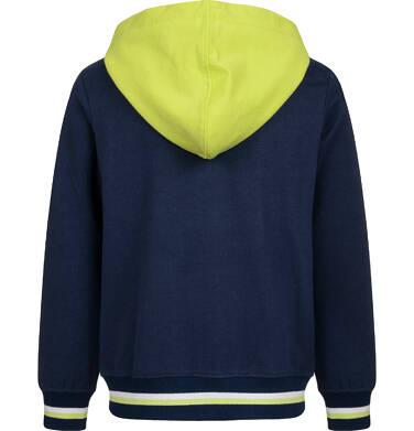 Endo - Bluza rozpinana z kapturem dla chłopca, granatowa, 2-8 lat C04C050_1 6